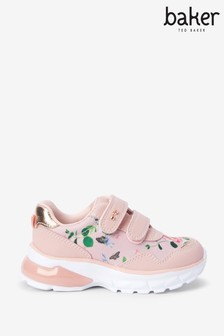 Baker by Ted Baker Floral Print Trainers