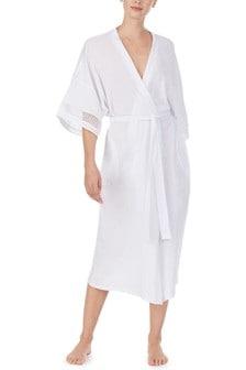 Donna Karan White Robe