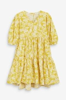 Kleid in Wickeloptik (3-16yrs)