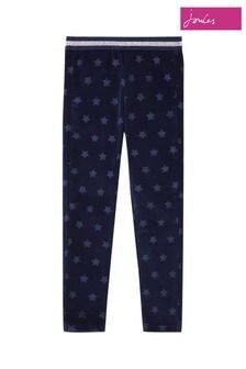 Joules Callen Strukturierte Leggings, Blau