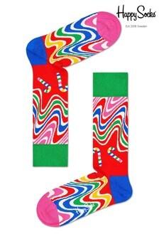 Happy Socks Men's Psychedelic Cracker 2 Pack Gift Box