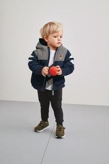 Куртка с тигром и светоотражающей отделкой (3 мес.-7 лет)