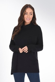Live Unlimited Curve Roll Neck Jumper