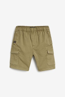 Pull-On Cargo Shorts (3-16yrs)