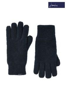 Joules Blue Bamburgh Gloves