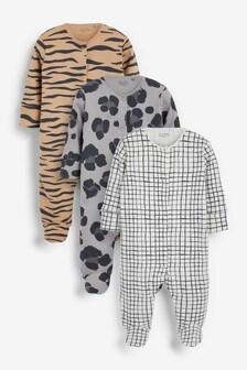מארז 3 חליפות שינה (גילאי 0 עד 2)