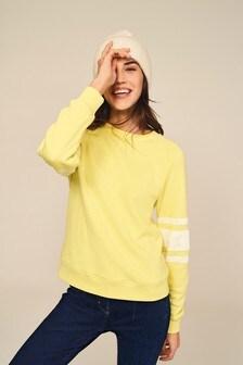 Star Sleeve Sweatshirt