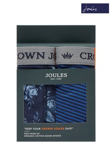 Crown Joules Boxershorts, 2er Pack