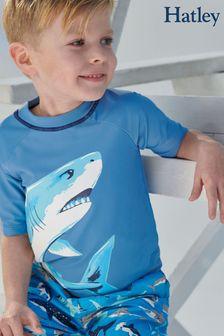 Lycra Hatley Deep Sea imprimé requin à manches courtes