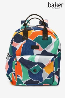 Baker by Ted Baker Camouflage Backpack