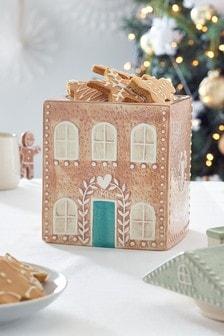 Gingerbread House Kitchen Treat Jar (497115)   $26
