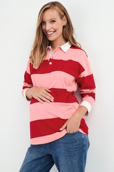 Maternity Rugby Top