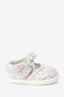 Zapatos para cochecito estilo merceditas (3-24 meses)
