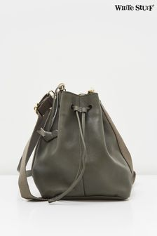 White Stuff Bella Leather Bucket Bag