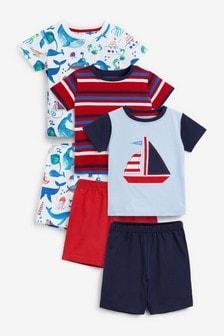 3 Pack Short Pyjamas (9mths-10yrs)
