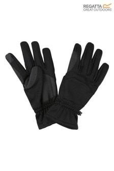 Regatta Black Softshell Gloves