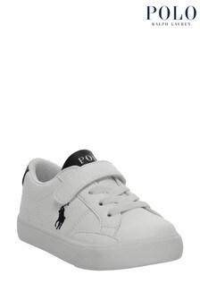 حذاء رياضي أبيض وأزرق داكن Theron من Ralph Lauren