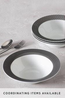 Sloane Dinnerware Set of 4 Pasta Bowls