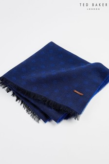 Ted Baker Wrap-Up Lightweight Geo Patterned Scarf