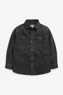 Long Sleeve Denim Shirt (3-16yrs)