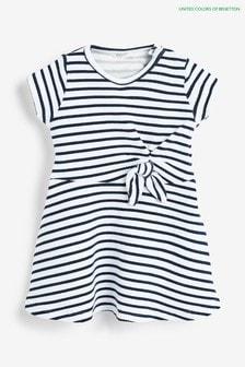 Benetton Navy/White Stripe Dress
