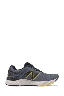 New Balance Grey 680 Trainers