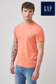 Gap Short Sleeve Flamingo Print T-Shirt