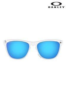 Oakley® White Frogskins Sunglasses