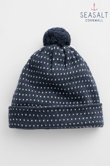 Seasalt Navy Nifty Knit Hat