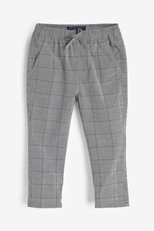 Check Pull-On Trousers (3mths-7yrs)