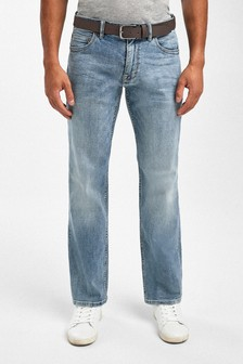 Belted Jeans With Stretch