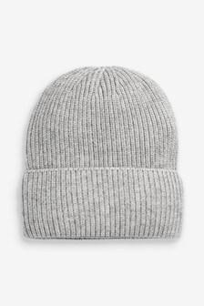 כובע גרב בסריגת ריב Sparkle