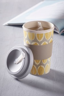 Travel Cup Made With Bamboo Fibre