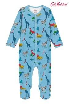 Cath Kidston Grey Animals Sleepsuit