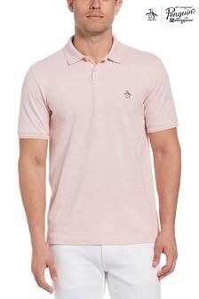 Original Penguin® Pink Raised Rib Polo