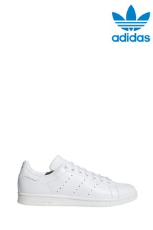 adidas Originals White/White Stan Smith Trainers