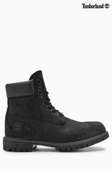 Timberland® premium nubuck 6 inch schoen met logo