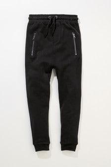 Pantalon de jogging à chevilles zippées (3-16 ans)