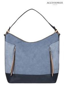 Accessorize Blue Helena Hobo Bag