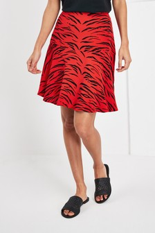 Мини-юбка с принтом