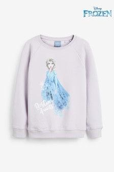 Disney™ Frozen 2 Elsa Top mit Rundhalsausschnitt (3-16yrs)
