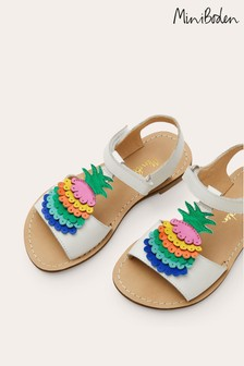 Boden Multi Rainbow Leather Sandals