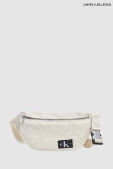 Calvin Klein Jeans Cream Teddy Waistpack Bag
