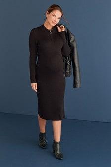 Вязаное платье (для беременных)