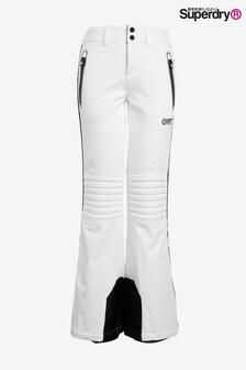 Superdry Schnee-Jogginghosen, weiß
