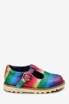 Массивные туфли с Т-образным ремешком (Младшего возраста)