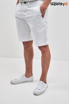Superdry White Chino Short