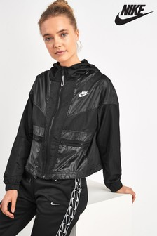 Czarna wiatrówka Nike Rebel