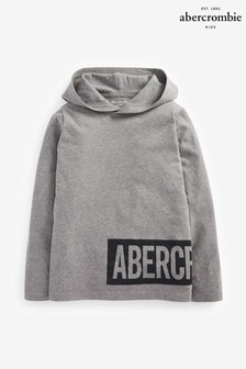 Abercrombie & Fitch Grey Lightweight Hoody