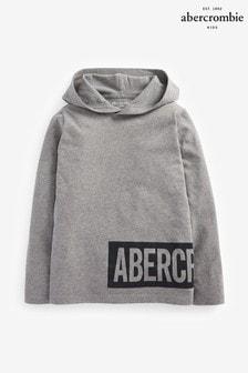 Abercrombie & Fitch - Dunne grijze hoody